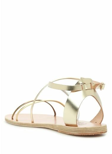 Ancient Greek Sandals Sandalet Altın